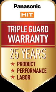 Panasonic Hit Warranty Logo